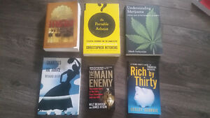 Brand new books - $5 each or all for $25