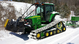 2003 John Deere 6420 Gilbert MCS snow groomer conversion