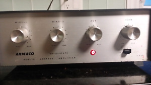 Armaco 4 channel PA Amplifier