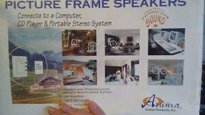 Picture frame speakers