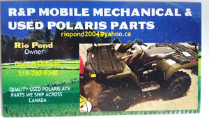 USED POLARIS ATV PARTS THOUSANDS IN STOCK WE SHIP ACROSS CANADA.