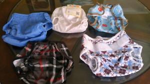 Cloth diaper kit