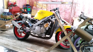 2 motor bike for parts