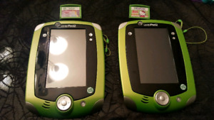 2 French Leap Pad with game