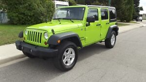 2012 Jeep Wrangler Sport Unlimited. Reduced Price.