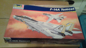 F-14 Tomcat Jet model kits Unbuilt 1/48 scale 2 Full Kits!