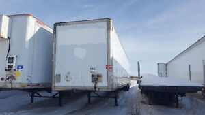 53' Heated insulated trailer or dry van