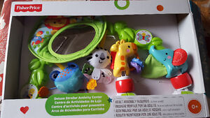 Fisher-Price Deluxe stroller activity center