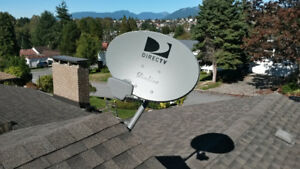 SATELLITE TV INSTALLER-SALES/MOVES/UPGRADES/SHAW/BELL TV/DIRECTV