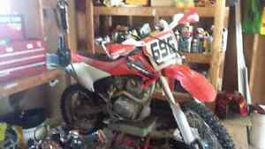2004 crf 230 with 450 suspension