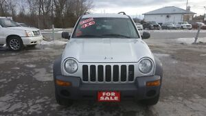 Jeep Liberty 4X4 *** LOADED SUV *** CERTIFIED $4995