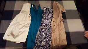 4 brand name womens dresses size small