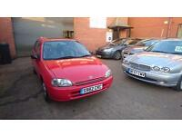 1999 / S Toyota Starlet 1.3 I GLS 5 Door Immaculate Low Mileage Example
