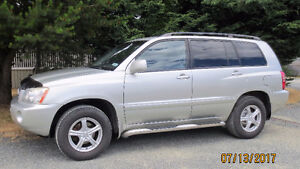 2003 Toyota Highlander cloth SUV, Crossover