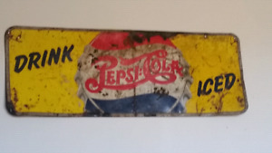 Old Pepsi sign
