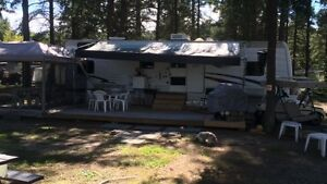 Trailer for sale at THE CACHE Campground