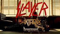 SLAYER, ANTHRAX and DEATH ANGEL