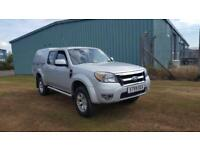 2009 59 PLATE FORD RANGER THUNDER 4X4 2.5TD D-CAB PICK UP
