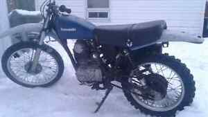 Kawasaki 1978 ((NO OWNERSHIP)) SANS PAPIERS