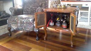 Cabinet buffet bar antique ,table console d'appoint,desserte