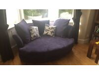 DFS Escape Cuddler Sofa Purple