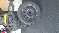 Snow tires great condition(about 75% tread) 185/60R14 185 60 R14
