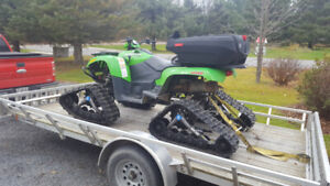 2011 Arctic Cat 550 TRV with camso tracks