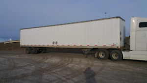 53 foot storage trailers delivery available $3750.00