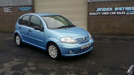2003 53 CITROEN C3 1.4i SX 5 DOOR,ONLY 75000 MILES WITH SERVICE HISTORY,