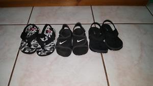 Size 6 sandals.