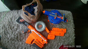 Nerf Gun Collection (Ammo included, pick up only)