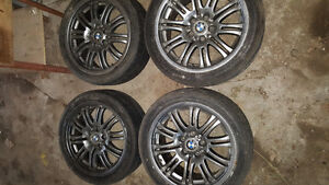 Selling as is BMW tires and rims. Best offer.