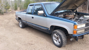 1993 Chevy ext cab for Parts