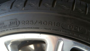 """Cadillac ATS 18"""" Rims and Tires Package Kitchener / Waterloo Kitchener Area image 4"""