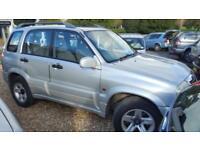 2002 Suzuki Grand Vitara 2.0 2002 4x4 private plate inc
