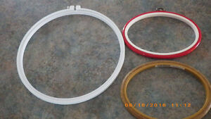 3 Stitching Hoops