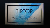 Tiptop home cleaning service