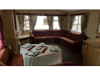 CHEAP CARAVAN SITED NORTH WALES NEXT TO BEACH