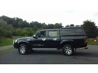 ford ranger with cover on the pick up excuallant condition