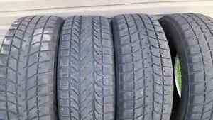 Set of 235 65 16 Winter Tires