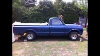 1972 Chev c/10 project