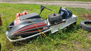 Vintage Snowmobiles for PARTS