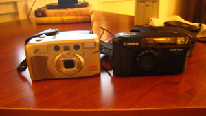 Bell & Howell & Canon Sure Shot Cameras