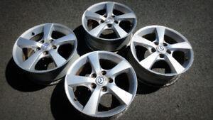 "4x 16"" Mazda Alloy Wheels - $100"