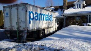 camion freightliner  6 roues réfrigéré à vendre