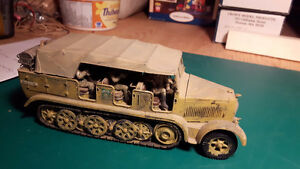 1/35 WWII German Vehicles Assembled & Painted - Lot 6
