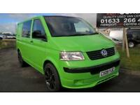 VOLKSWAGEN TRANSPORTER 1.9 T28 TDI SWB 101 BHP GREEN READY FOR CONVERSIO