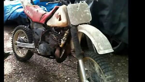 ISO 250 cc or more project dirtbike