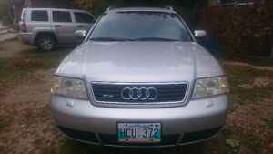 2001 Audi A6 Wagon with SAFETY