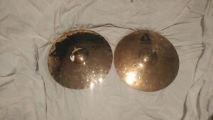 "14"" paiste alpha hi hat metal edge"